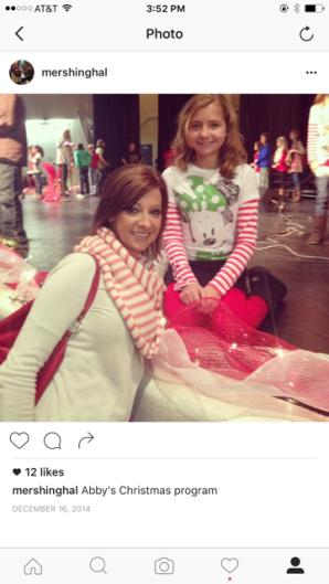 Abby 5th grade christmas program