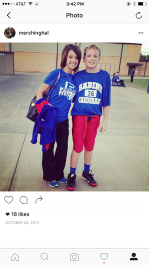 Bryce 7th grade football